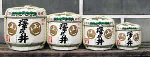 豆樽(壺詰め・菰冠り)