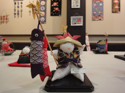 澤乃井ギャラリー 「和布作品展」和の会