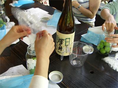 澤乃井 梅酒づくり教室