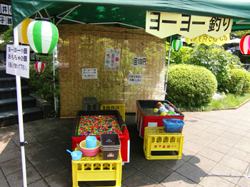 ≪澤乃井園≫夏祭り