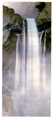 玉堂美術館 瀑布